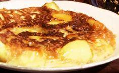 Diário do Olivier: receita de torta de maçã de frigideira