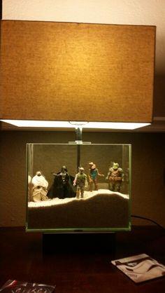 Star wars DIY lamp