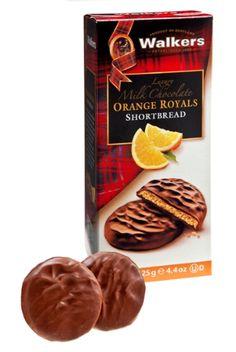 Walkers #Shortbread Milk Chocolate Orange Royals