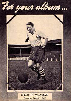 Charlie Wayman of Preston North End in 1954.