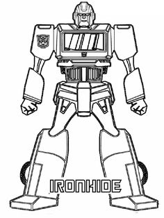 transformer gears coloring pages - photo#19