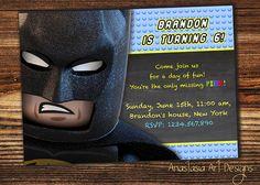 Lego Movie Birthday Invitation Lego party by AnastasiaArtDesigns, $8.99