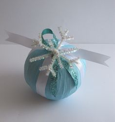 Holiday Surprise Ball- Winter Snowflake  favors?