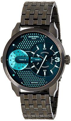 Diesel Hombre dz7340Negro Reloj de cuarzo de acero inoxidable