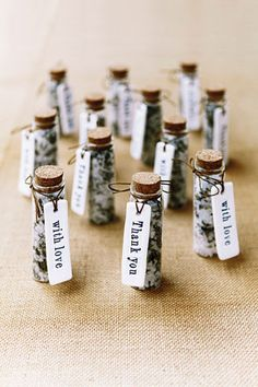 Love this idea for favours, inexpensive and people will use them :) #minibathsalts