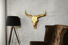 Wandschedel Model: Matador - Goud | Decoratie | GOEDKOOPMEUBELEN.NL