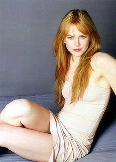 Nicole Kidman. I think she is beautiful.