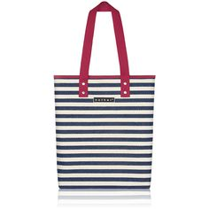 nother Marine Stripe Tote Bag (Navy)