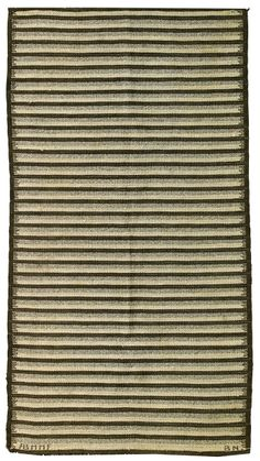 Barbeo Nilsson; Wool Flat-Weave Rug by Marta Maas-Fjetterström, c1950.