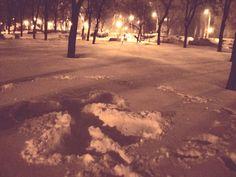 #angel #snow #allwhite
