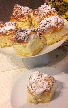 Andzia Pichci: Sernik z brzoskwiniami No Bake Cake, Biscotti, Baked Goods, Baking Recipes, French Toast, Cheesecake, Food And Drink, Breakfast, Cook