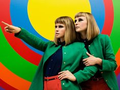 Bop along to new band Lucius.