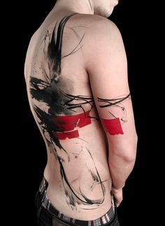 Trash Polka: Trashing the Rules of Conventional Tattoo Art | Create