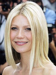 Blunt cut hairstyle, layered fine hair can look like you have less hair.