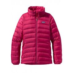 cd748f0e9d55 Patagonia Girls Down Sweater (Jeweled Berry). Sweater JacketPatagonia Down  SweaterCamping With KidsPatagonia OutdoorOutdoor OutfitGirlsSweatersPinkSki  ...