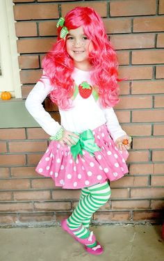 I will so be Strawberry shortcake some day for Halloween