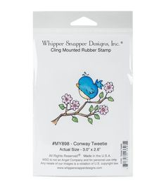 Whipper Snapper Designs Cling Stamp-Conway Tweetie