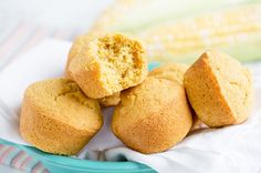 These delicious whole-wheat cornbread muffins contain only 132 calories and 3 WWP+ per muffin!