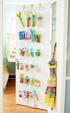 The possibilities of a shoe organizer is endless. I'm planning on using this in my linen closet for lotions, extra toothpaste, etc.!