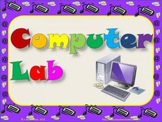 Computer Posters - Multicolor from La-NetteMark on TeachersNotebook.com -  (16 pages)  - Computer Posters for your lab or station on multicolors.