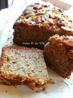 """Baking's Corner tagline, """"We bake. We cook. We share."""" ~ is a free~to~share platform created for the passionate home~bakers. Super Moist Banana Bread, Banana Bread Cake, Banana Cakes, Orange Sponge Cake, Banana Bread Recipes, Cupcake Recipes, Yummy Cakes, Amazing Cakes, Bakery"""