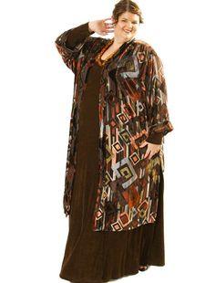 f12847386ef50 Plus Size Special Occasion Kimono Coat Silk Velvet Burnout Deco Naturals   SHOP NOW  Unique jackets for women Sizes 14 - 36