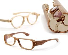 Handmade wooden glasses by Herrlicht. (Previously listed by Nick Goodenough)