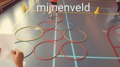 Mijnenveld / Minefield, een leuk spel voor in de gymles waarbij je beweegt en nadenkt tegelijk. Wie weet als eerste de weg naar de uitgang te vinden?