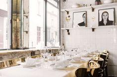 Anahi restaurant interior, Paris / Garance Doré