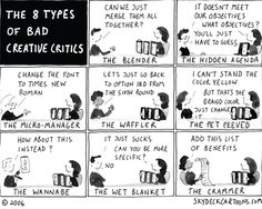 The 8 Types of Client Critiques  |  Design Humor. Whether design or programming, we've all run into them.