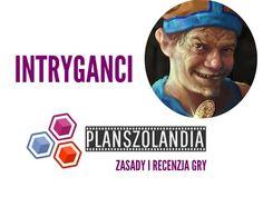 Planszolandia: Wideo recenzja i zasady gry Intryganci # 78