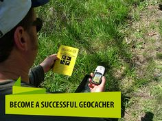 Become a successful geocacher in 3 easy steps