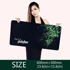 For Razer Goliathus Gaming Game Mouse Pad Mat Control Edition XL Large Size 600*300*3MM free shipping Nail That Deal http://nailthatdeal.com/products/for-razer-goliathus-gaming-game-mouse-pad-mat-control-edition-xl-large-size-6003003mm-free-shipping/ #shopping #nailthatdeal