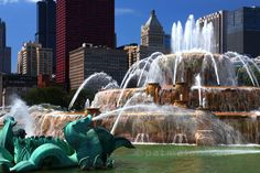 Buckingham Fountain, Bing Images, Birth, Waterfall, Chicago, Sweet, Places, Outdoor, Candy