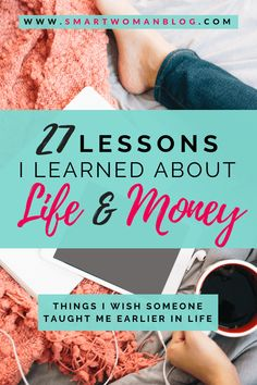 I shared with you 27 lessons I learned about life and money to celebrate my birthday! I talk about travel, relationships, finance and more. Ways To Save Money, Make More Money, Money Tips, Money Saving Tips, Financial Tips, Financial Literacy, Financial Planning, Financial Peace, Budgeting Finances
