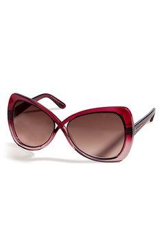 TOM FORD  Pink/Rose Translucent Jade Sunglasses