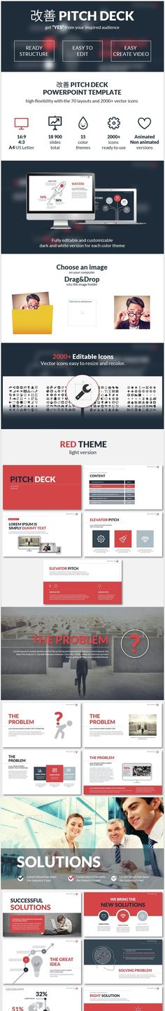 Minimal Powerpoint Presentation Template Ppt template, Mockup and