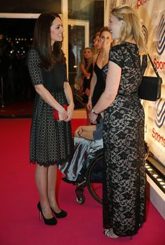 Kate Middleton - The Duchess Of Cambridge Attends The SportsAid Annual Dinner