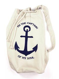 Be Famous Seesack Captain natur