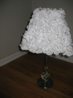 Ruffled lamp shade diy crafty pinterest ruffle lamp shades ruffle lamp shade diy and bookmark freebie mozeypictures Gallery
