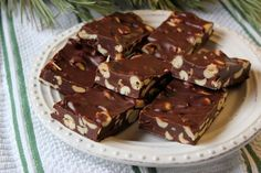 This is a square you will want to add to your Christmas tray. They taste similar to an Eatmore bar. Thank you to niece Cheryl for this recipe. It's been in my Christmas collection for years. Easy Holiday Desserts, Holiday Baking, Christmas Desserts, Christmas Baking, Holiday Recipes, Christmas Kitchen, Holiday Foods, Christmas Treats, Christmas Cookies
