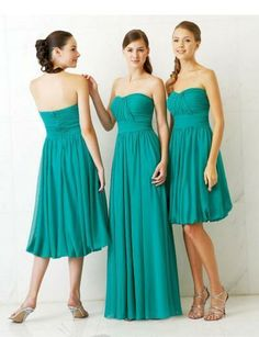 gorgeous color for the girls' dresses