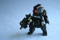 Cyberpunk Police - LEGO custom