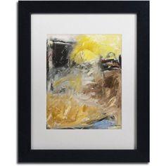 Trademark Fine Art Minh'alma Canvas Art by Joarez, White Matte, Black Frame, Size: 11 x 14
