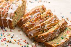 Birthday Cake Banana Bread Is Your New Excuse to Eat Sprinkles for Breakfast