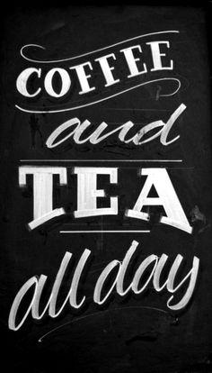 #Chalkboard art #quote ☕Coffee♥Craft☕ #Coffee art