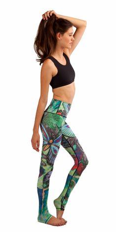 1451f42ccc491 Butterfly Sport Leggings 3D Print Leggings
