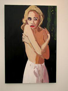 Chantal Joffe painting
