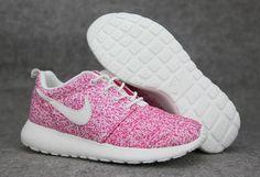 Achat en ligne Nike Roshe Run Femme Mesh Bourgogne Blanche Pas Cher
