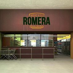 Maquete para projeto de pequeno mercado. Mooca/SP #id #identidadevisual #designgrafico #retail #arquitetura #comunicaçãovisual #café #supermercado #supermarket  #logo #arquitetura #arquiteturacomercial #casa45arquitetura #3dsmax #vray #vrayrender